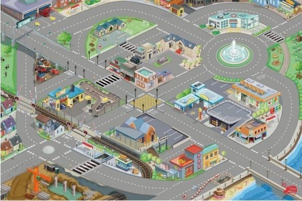 City Play Mat The Toy Factory