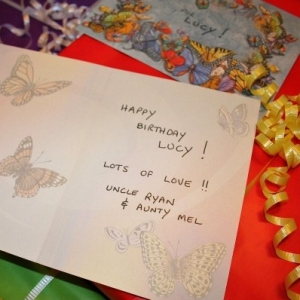Lucy's Birthday Card