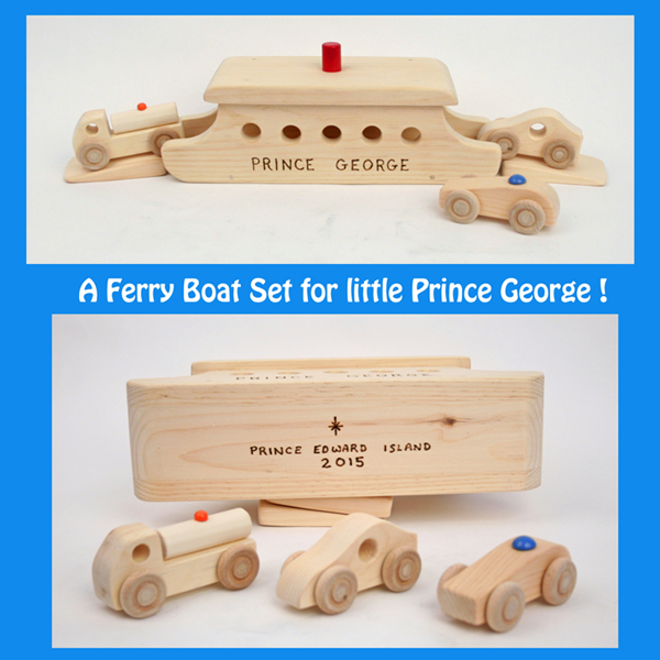 The Toy Factory - Ferry Boat Set for Prince George