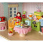 Doll Family P051 by Le Toy Van - New Version - Dollhouse Scene 1