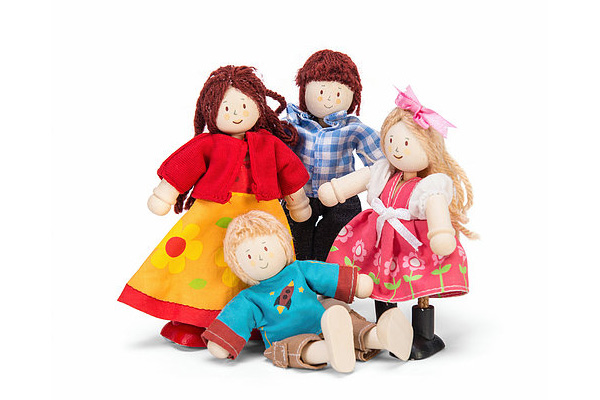 Doll Family by Le Toy Van - New Version 2016
