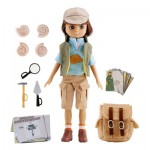 FOSSIL HUNTER NON-BARBIE LOTTIE DOLL WITH ACCESSORIES