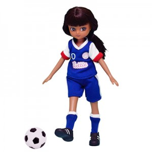 GIRLS UNITED NON-BARBIE LOTTIE DOLL SOCCER OUTFIT