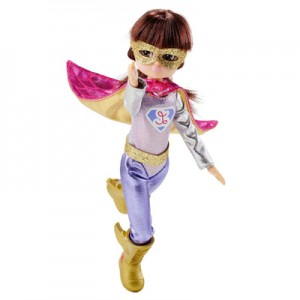 SUPER HERO NON-BARBIE LOTTIE DOLL OUTFIT