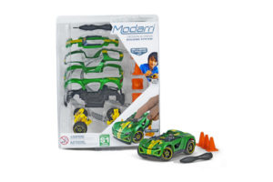 MOdarri S1 Super Charger Car with Traffic Cones