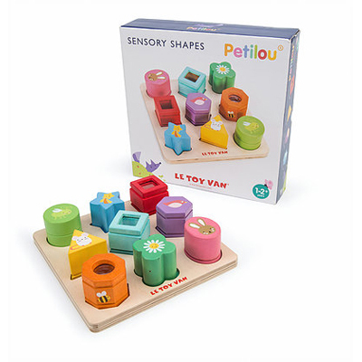 Sensory Shapes Blocks by Le Toy Van