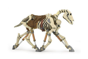 Glow-in-the-Dark Skeleton Horse