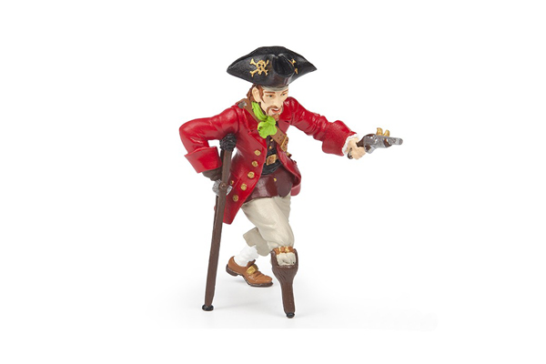 Wooden Leg Pirate with Gun by Papo Toys