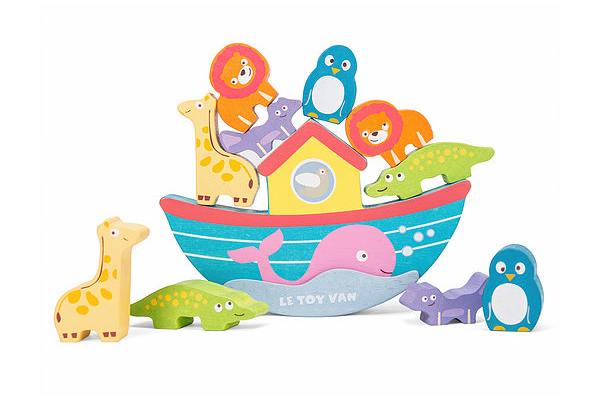 Noah's Balancing Ark by Le Toy VanN
