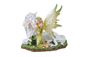 Woodland Fairy with Unicorn