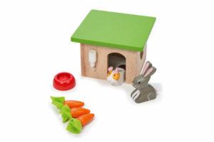Bunny & Guinea Pig Play Set