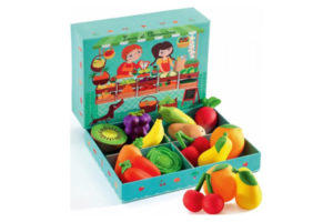 Louis & Clementine Food Play Set by Djeco of France
