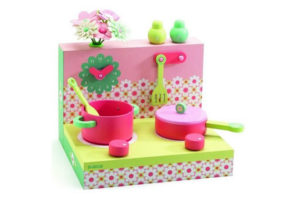 Pastel Cooker Play Set by Djeco of France