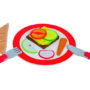 Breakfast Play Set by Goki of Germany