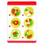 Lunch Play Set - Menu Card - by Goki of Germany