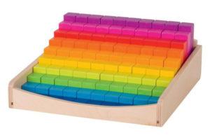 Rainbow Math Blocks by Goki