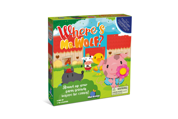 Where's Mr. Wolf ? Cooperation Game