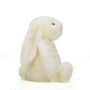 Bashful Cream Bunny - Medium - Side View