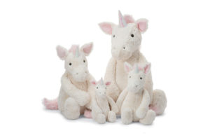 Bashful Unicorns - Huge, Large, Medium, Small
