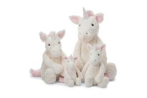 Bashful Unicorns - Huge, Large, Medium, Small