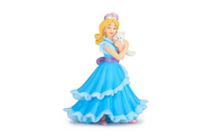 Blue Princess with Cat