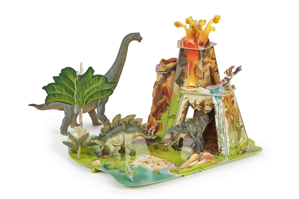 LAND OF THE DINOSAURS POP-TO-PLAY