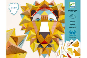 DJECO 3D POSTER KIT - THE KING