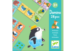 Animal Dominoes Game by DJECO Toys