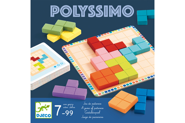 POLYSSIMO GAME by DJECO Toys