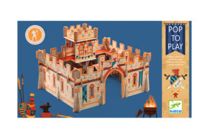 DJECO POP-TO-PLAY MEDIEVAL CASTLE