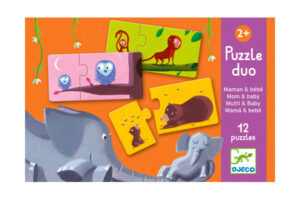 DJECO Puzze Duo - Mom & Baby