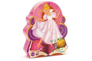 Cinderella Silhouette Puzzle by DJECO Toys - Box