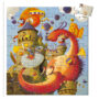 Dragon Silhouette Puzzle by DJECO Toys