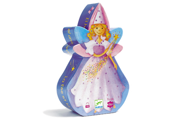 Fairy Silhouette Puzzle by DJECO Toys - Box