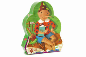 Pinocchio Silhouette Puzzle by DJECO Toys - Box