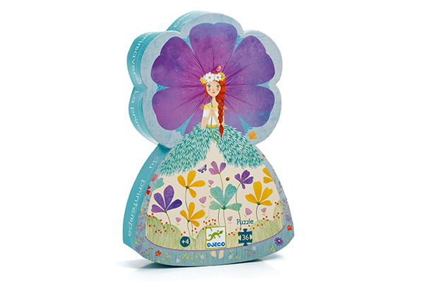 Princess Silhouette Puzzle by DJECO Toys - BOX