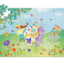 Princess Silhouette Puzzle by DJECO Toys