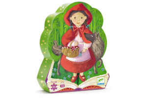 Red Riding Hood Silhouette Puzzle by DJECO Toys - Box