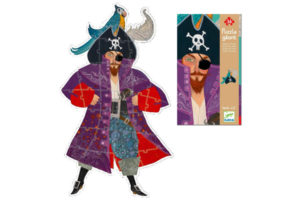 Elliott the Pirate Giant Puzzle by Djeco of France