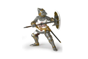 Germanic Knight with Movable Visor
