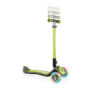 GLOBBER ELITE SCOOTER with Fold-Down Handlebars and Light-Up Wheels - GREEN