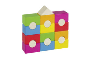 GOKI 19 PIECE STACKING TOWER BLOCKS