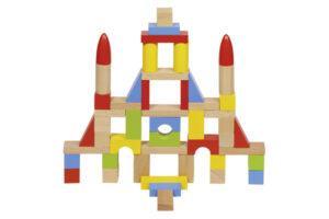 50 PIECE BUILDING BLOCKS SET by GOKI Toys