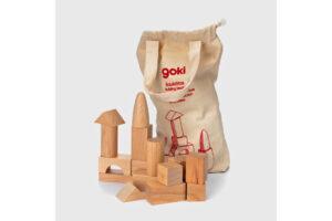 50 PIECE BEESWAX BUILDING BLOCKS SET by GOKI Toys