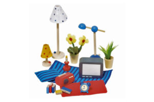 LIVING ROOM ACCESSORIES SET by GOKI Toys