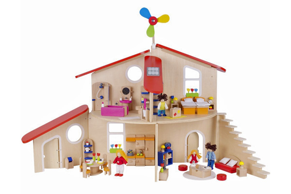 Modern Dollhouse by GOKI TOys of Germany