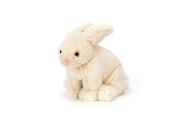 RILEY CREAM RABBIT by JELLYCAT