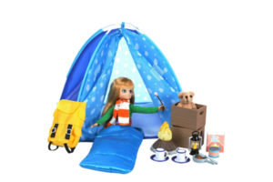 CAMPFIRE FUN PLAY SET WITH LOTTIE DOLL