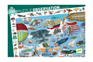 Aero Club 200 Piece Observation Puzzle by DJECO Toys