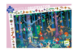 Forest 100 Piece Observation Puzzle by DJECO Toys